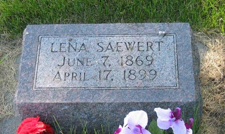 SAEWERT, LENA - Allamakee County, Iowa | LENA SAEWERT