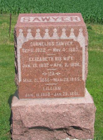 SAWYER, CORNELIUS - Allamakee County, Iowa | CORNELIUS SAWYER
