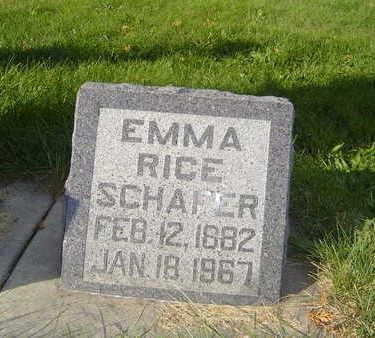 SCHAFER, EMMA - Allamakee County, Iowa | EMMA SCHAFER