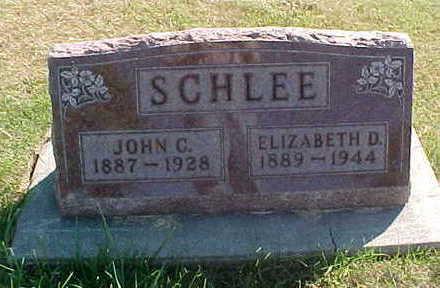 SCHLEE, JOHN  C. - Allamakee County, Iowa | JOHN  C. SCHLEE