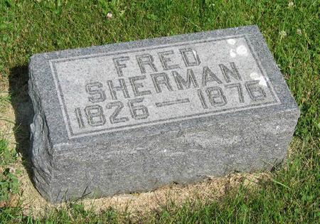 SHERMAN, FRED - Allamakee County, Iowa | FRED SHERMAN