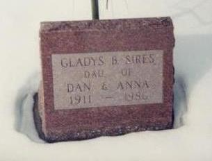 SIRES, GLADYS B - Allamakee County, Iowa | GLADYS B SIRES