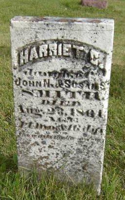 SMITH, HARRIET C. - Allamakee County, Iowa   HARRIET C. SMITH