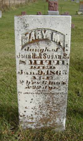 SMITH, MARY M. - Allamakee County, Iowa | MARY M. SMITH