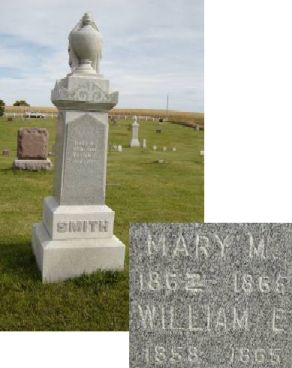 SMITH, MARY M - Allamakee County, Iowa | MARY M SMITH