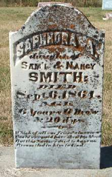 SMITH, SAPHRONA A. - Allamakee County, Iowa | SAPHRONA A. SMITH