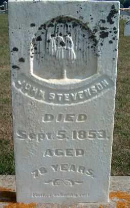 STEVENSON, JOHN - Allamakee County, Iowa | JOHN STEVENSON