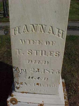 STILES, HANNAH - Allamakee County, Iowa | HANNAH STILES
