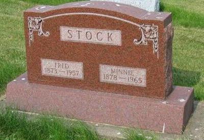 STOCK, MINNIE - Allamakee County, Iowa | MINNIE STOCK