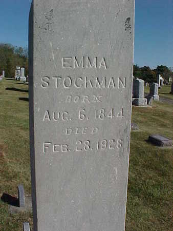STOCKMAN, EMMA - Allamakee County, Iowa | EMMA STOCKMAN