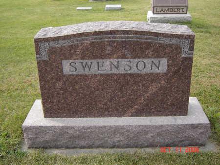SWENSON, FAMILY STONE - Allamakee County, Iowa | FAMILY STONE SWENSON