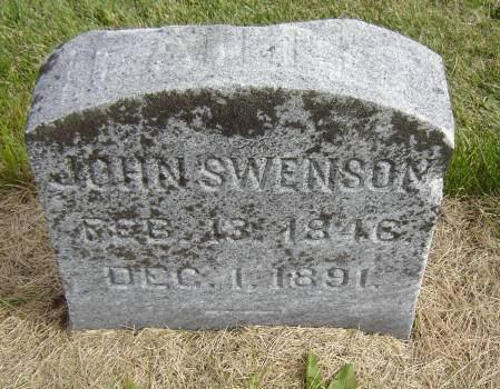 SWENSON, JOHN - Allamakee County, Iowa   JOHN SWENSON