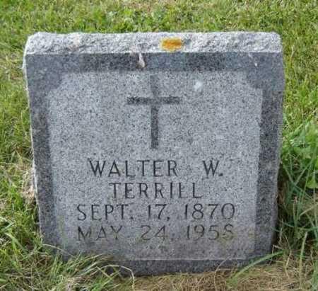 TERRILL, WALTER W. - Allamakee County, Iowa | WALTER W. TERRILL