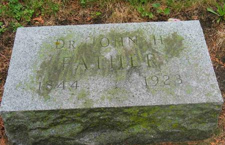 THORNTON, DR. JOHN H. - Allamakee County, Iowa | DR. JOHN H. THORNTON