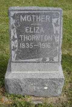 MINNICK THORNTON, ELIZA - Allamakee County, Iowa | ELIZA MINNICK THORNTON