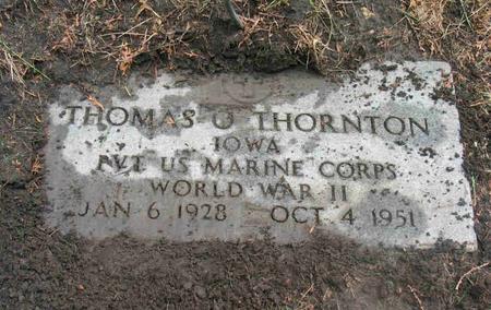 THORNTON, THOMAS O. - Allamakee County, Iowa | THOMAS O. THORNTON