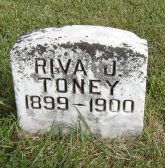 TONEY, RIVA J. - Allamakee County, Iowa | RIVA J. TONEY