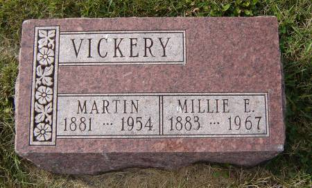 VICKERY, MILLIE E. - Allamakee County, Iowa | MILLIE E. VICKERY