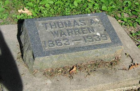 WARREN, THOMAS A. - Allamakee County, Iowa | THOMAS A. WARREN