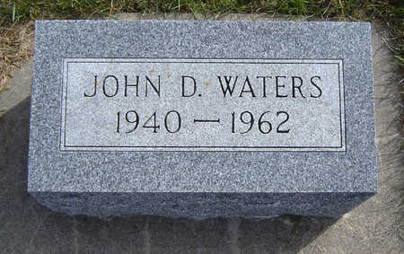 WATERS, JOHN D. - Allamakee County, Iowa | JOHN D. WATERS
