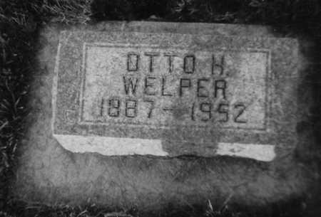 WELPER, OTTO H. - Allamakee County, Iowa   OTTO H. WELPER