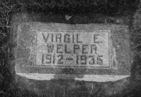 WELPER, VIRGIL E. - Allamakee County, Iowa | VIRGIL E. WELPER