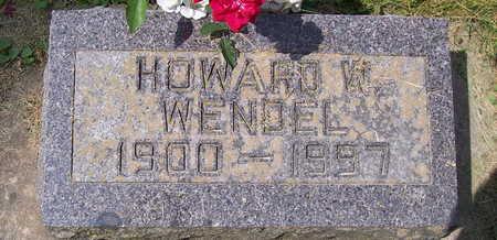 WENDEL, HOWARD W. - Allamakee County, Iowa | HOWARD W. WENDEL