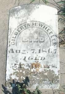 WHEELER, GILBERTA M. - Allamakee County, Iowa | GILBERTA M. WHEELER