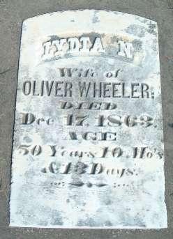 WHEELER, LYDIA N. - Allamakee County, Iowa | LYDIA N. WHEELER