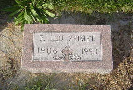 ZEIMET, F. LEO - Allamakee County, Iowa | F. LEO ZEIMET