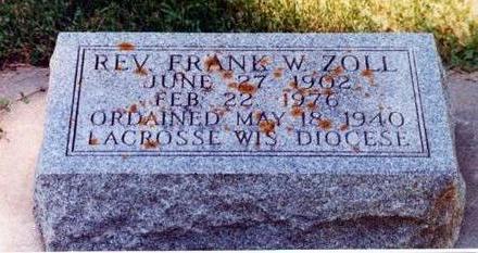 ZOLL, FRANK - Allamakee County, Iowa | FRANK ZOLL