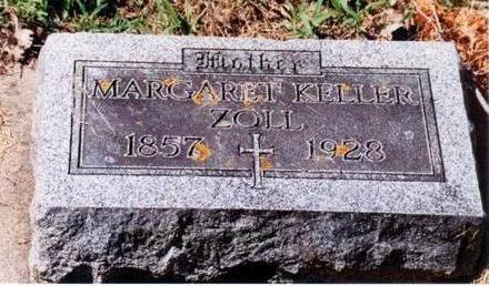 KELLER ZOLL, MARGARET - Allamakee County, Iowa | MARGARET KELLER ZOLL