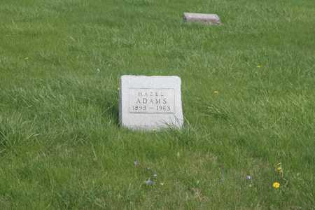 ADAMS, HAZEL - Appanoose County, Iowa | HAZEL ADAMS