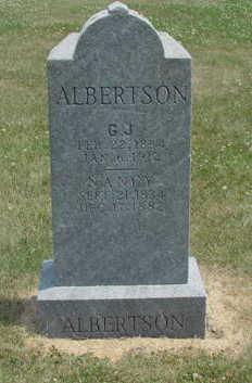 ALBERTSON, G. J. - Appanoose County, Iowa | G. J. ALBERTSON
