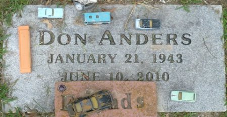 ANDERS, DONALD EUGENE - Appanoose County, Iowa | DONALD EUGENE ANDERS