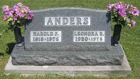 ANDERS, LEONORA RUTH - Appanoose County, Iowa | LEONORA RUTH ANDERS