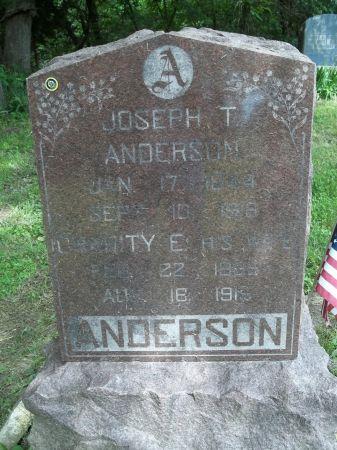 ANDERSON, JOSEPH T. - Appanoose County, Iowa   JOSEPH T. ANDERSON