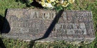 ARCHER, JOHN W. - Appanoose County, Iowa | JOHN W. ARCHER