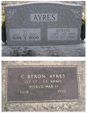 AYRES, BYRON - Appanoose County, Iowa   BYRON AYRES