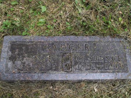 BADGER, NANNIE - Appanoose County, Iowa | NANNIE BADGER