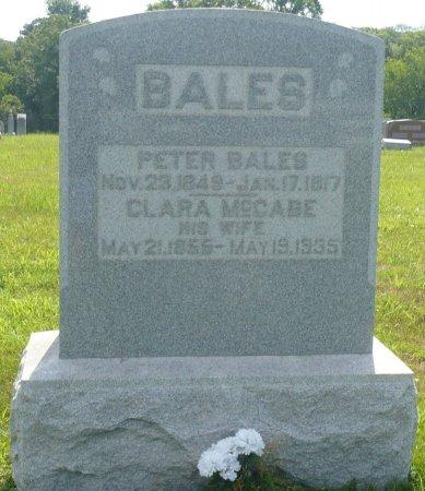 BALES, PETER - Appanoose County, Iowa | PETER BALES