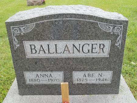 BALLANGER, ANNA - Appanoose County, Iowa | ANNA BALLANGER