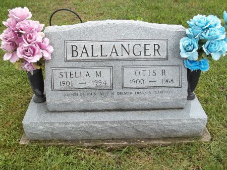 BALLANGER, STELLA M. - Appanoose County, Iowa | STELLA M. BALLANGER