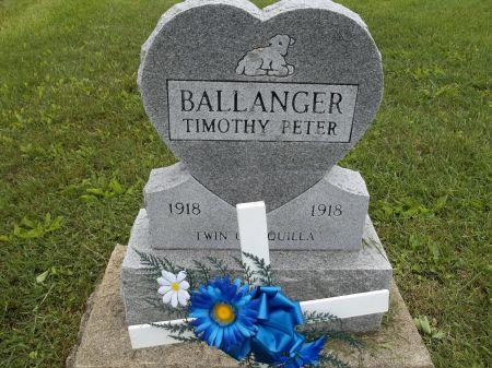 BALLANGER, TIMOTHY PETER - Appanoose County, Iowa   TIMOTHY PETER BALLANGER