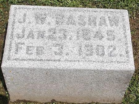 BASHAW, J.W. - Appanoose County, Iowa   J.W. BASHAW