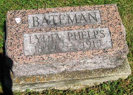 HUFFMAN BATEMAN, LYDIA - Appanoose County, Iowa | LYDIA HUFFMAN BATEMAN
