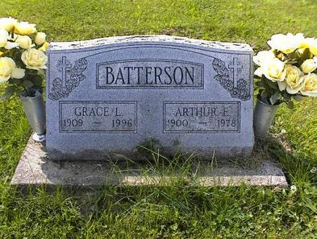 BATTERSON, GRACE L. STUFFLEBEAM - Appanoose County, Iowa | GRACE L. STUFFLEBEAM BATTERSON