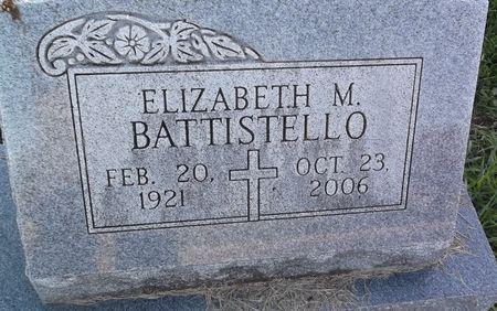 BATTISTELLO, ELIZABETH M. - Appanoose County, Iowa   ELIZABETH M. BATTISTELLO