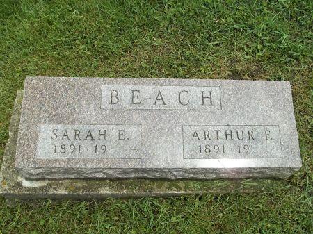 PIKE BEACH, SARAH E. - Appanoose County, Iowa | SARAH E. PIKE BEACH