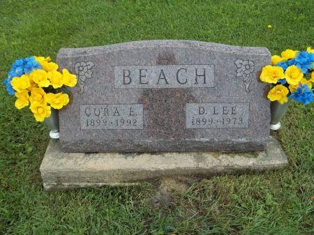 BEACH, CORA ELLEN - Appanoose County, Iowa   CORA ELLEN BEACH